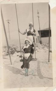 669. T.Harvey & Connie Kennedy. Beach Shop Staff, 1933.